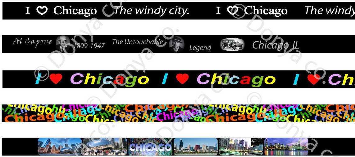 Chicago lanyard
