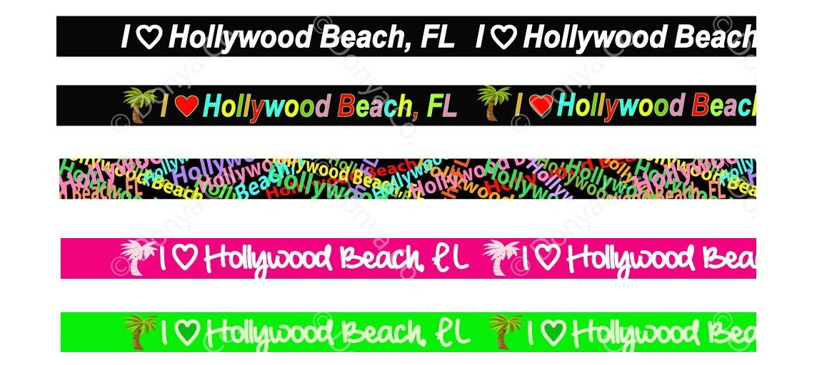 Hollywood Beach FL lanyard