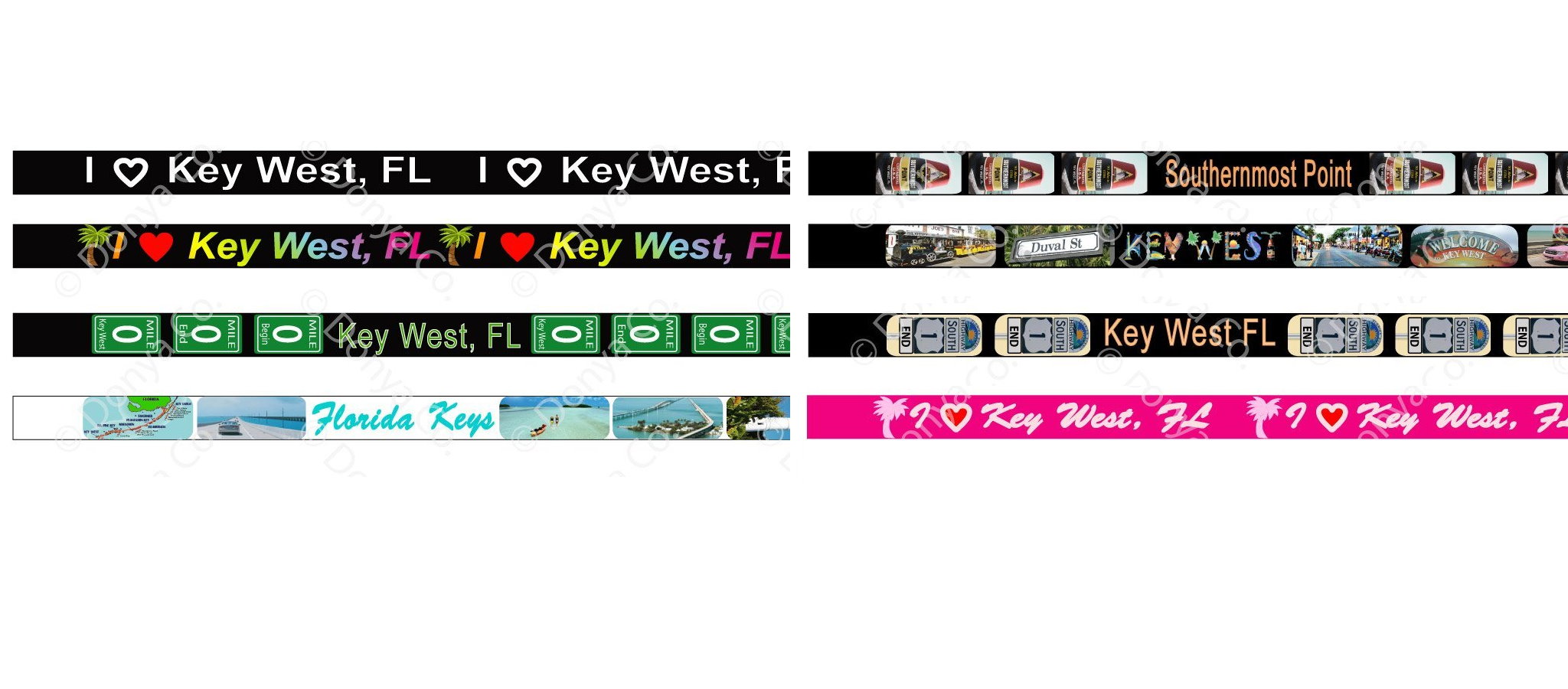Key West lanyard
