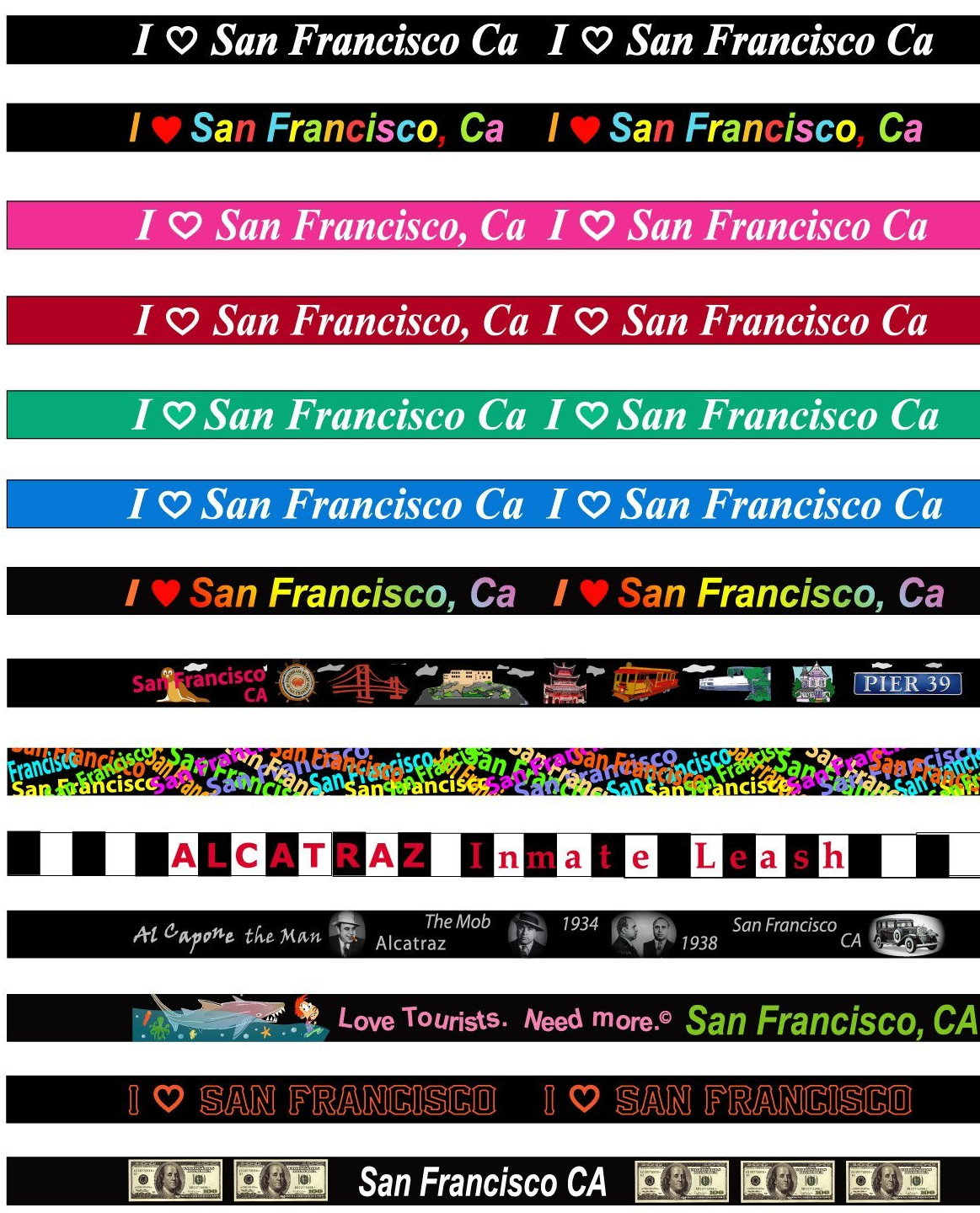 San Francisco lanyard